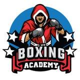 Boxing badge design. Vector of boxing badge design vector illustration