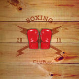 Boxing badges logos and labels for any use Royalty Free Stock Images