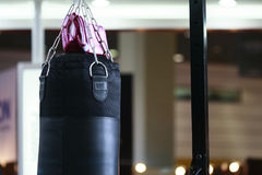 Boxing bag Royalty Free Stock Photography