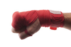 Boxing bandage Stock Image