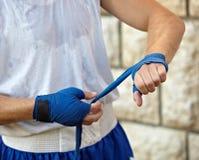 Boxing bandage Royalty Free Stock Photos