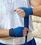 Boxing bandage Royalty Free Stock Photos
