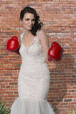 Boxing Beauty. Royalty Free Stock Images