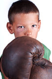 Boxing boy Stock Photography