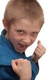 Boxing boy. Stock Image
