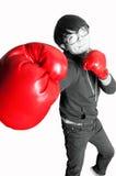 Boxing boys Stock Photo
