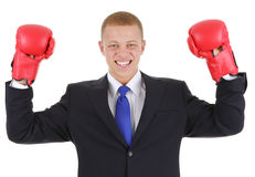Boxing business Stock Image