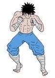 Boxing cartoon Stock Photos