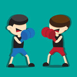 BOXING CARTOON Stock Images