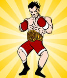 Boxing Champion Stock Photos
