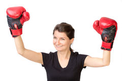 Boxing champion Royalty Free Stock Photography