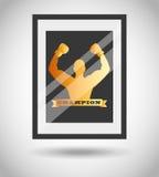 Boxing championship design Stock Photo