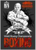 Boxing Club Logo, Emblem, Label, Badge, T-Shirt Design. Stock Images