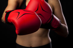 Boxing concept Stock Photography