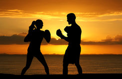 Boxing Royalty Free Stock Photos