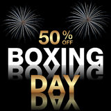 Boxing Day background Royalty Free Stock Image