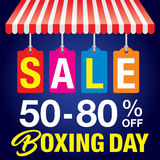 Boxing Day background Royalty Free Stock Images