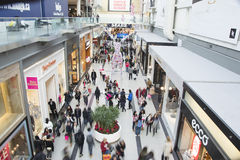 Boxing Day is the busiest shopping day of the year Stock Photography