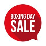 Boxing day label tag sticker Stock Photos