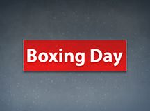 Boxing Day Red Banner Abstract Background. Boxing Day Isolated on Red Banner Abstract Background illustration Design royalty free illustration