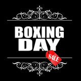Boxing Day sale banner. Royalty Free Stock Image