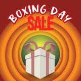 Boxing day sale. christmas advertising clipping mask box and eps 10. coloring, blue, gray, red bubble and balls. special poster. v. Boxing day sale. christmas vector illustration