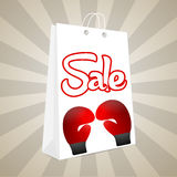 Boxing Day  Sale Royalty Free Stock Images