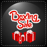 Boxing Day  Sale Royalty Free Stock Photo