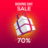Boxing Day Sale Discount Royalty Free Stock Photos