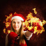 Boxing day sale Stock Image