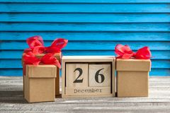 Boxing day sale Royalty Free Stock Photos