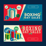 Boxing Day Sales Coupon Stock Photo