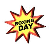 Boxing Day Sign Royalty Free Stock Images