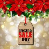 Boxing day tag Royalty Free Stock Photos