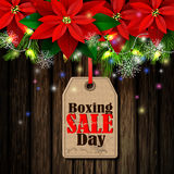 Boxing day tag Stock Photos