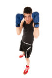 Boxing defense Royalty Free Stock Image