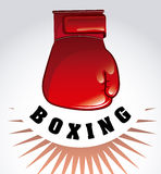 Boxing design Royalty Free Stock Images