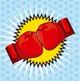 Boxing design Royalty Free Stock Photo