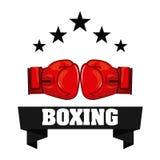 Boxing design Royalty Free Stock Image