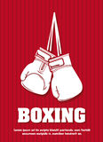 Boxing design Royalty Free Stock Photos