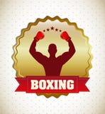 Boxing design Stock Photos