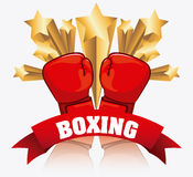 Boxing design Royalty Free Stock Photography