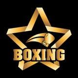 Boxing design Royalty Free Stock Photos