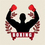 Boxing design Royalty Free Stock Photo