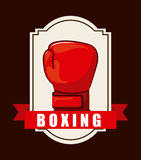 Boxing design Royalty Free Stock Image