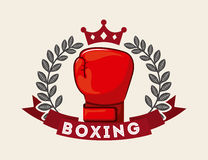 Boxing design Stock Photo