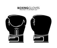 Boxing design Stock Photography