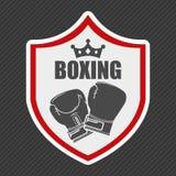 Boxing emblem Stock Photos
