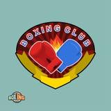 Boxing emblem. Logo boxing Club. Stock Images