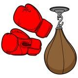 Boxing Equipment Royalty Free Stock Photos